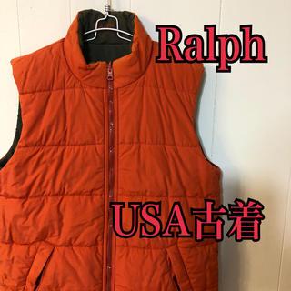 ラルフローレン(Ralph Lauren)のラルフローレン  Ralph リバーシブルベスト USA古着(ベスト/ジレ)