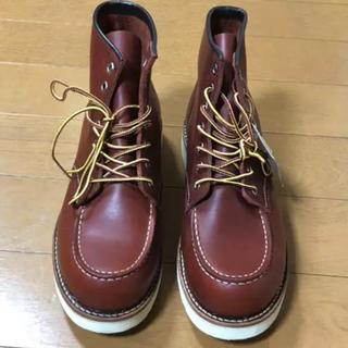 ホーキンス(HAWKINS)のホーキンス レッドブラウン ブーツ ホーキンス 6inch moc(ブーツ)