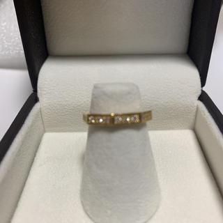 ダイヤモンドピンキーリングK18(リング(指輪))