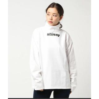 ステューシー(STUSSY)の大人気タートルネック ステューシー白(カットソー(長袖/七分))