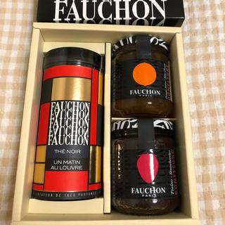 タカシマヤ(髙島屋)の週末お値引😊【送料込み】FAUCHON(フォション) 紅茶&ジャム セット(茶)