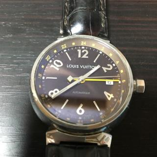 ルイヴィトン 時計 タンブールGMT 中古 格安(腕時計(デジタル))