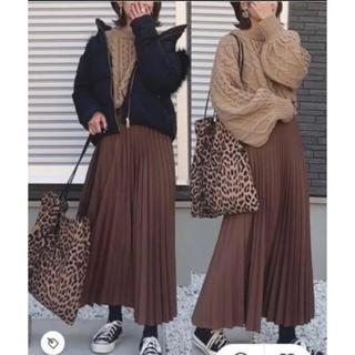 ザラ(ZARA)の大人気ブラウンスカート(ロングスカート)