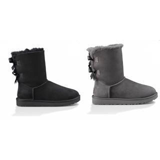 アグ(UGG)のugg アグ  ムートンブーツ リボン ブーツ 定価以下 シープスキン(ブーツ)