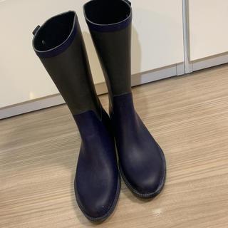 ランバンオンブルー(LANVIN en Bleu)のLANVIN en Bleu 長靴 レインシューズ(レインブーツ/長靴)