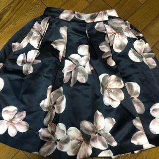 アベニールエトワール(Aveniretoile)のアベニールエトワール ♪花柄スカート(ひざ丈スカート)