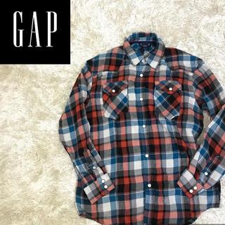 ギャップ(GAP)の✔︎着心地抜群 ギャップ ネルシャツ チェックシャツ ガーゼシャツ(シャツ/ブラウス(長袖/七分))