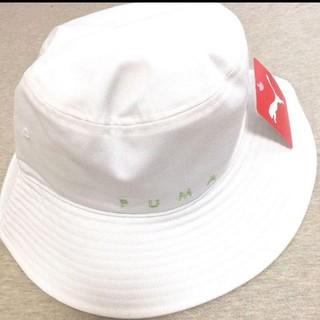 プーマ(PUMA)の【新品未使用】PUMAプーマ★ロゴ入りハット 帽子(ハット)