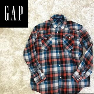 ギャップキッズ(GAP Kids)の✔︎着心地バツグン ギャップ キッズ ネルシャツ チェックシャツ ガーゼ(シャツ)