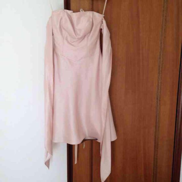 AIMER(エメ)の姫さま専用♡薄いピンクドレス レディースのフォーマル/ドレス(ミディアムドレス)の商品写真