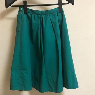 オペークドットクリップ(OPAQUE.CLIP)の膝丈スカート S(ひざ丈スカート)