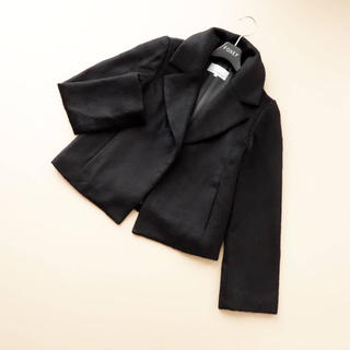 M-premier - ■エムプルミエブラック■ 34P モヘア混 シャギー 黒 ショートコート