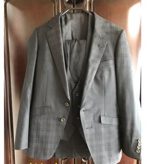 SELECT - スーツセレクト・Y4 スーツ・ベスト付・シャドーチェック