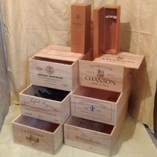 ワイン木箱 木箱いっぱい福袋 No456(その他)