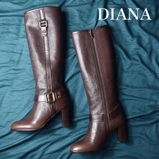ダイアナ(DIANA)の【展示品 未使用】DIANA ダイアナ 美脚 ロングブーツ(ブーツ)
