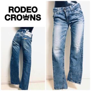 ロデオクラウンズ(RODEO CROWNS)のRODEO CROWNS ストレートジーンズ(デニム/ジーンズ)