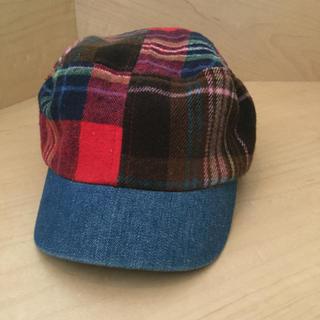 ビームス(BEAMS)の【値下げ】帽子 キャップ 秋冬用 ビームスミニ キッズ 52cm(帽子)