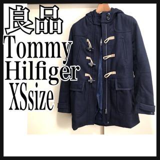 トミーヒルフィガー(TOMMY HILFIGER)の良品 トミーヒルフィガー ダッフルコート XS 紺 Tommy Hilfiger(ダッフルコート)