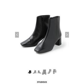 ステュディオス(STUDIOUS)の【STUDIOUS】サイドジップミドルブーツ(ブーツ)