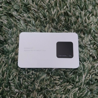 エヌイーシー(NEC)のSpeed Wi-Fi NEXT wx01 電池なし(PC周辺機器)