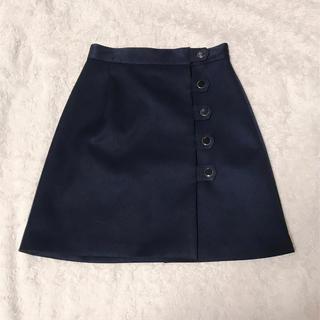 ジルスチュアート(JILLSTUART)のJILL STUART ネイビースカート♡(ミニスカート)
