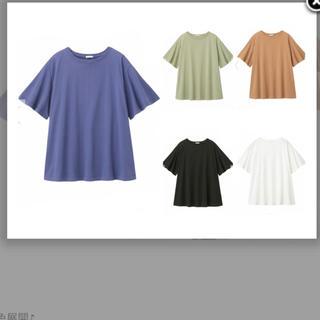 ジーユー(GU)の  ジーユー フレアオーバーサイズT(Tシャツ(半袖/袖なし))
