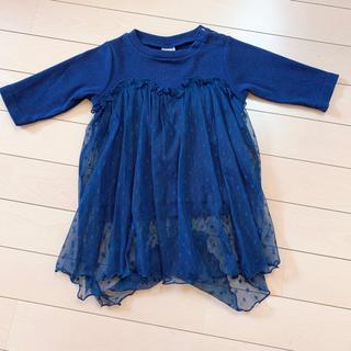 プティマイン(petit main)の女の子 80 petit main トップス(Tシャツ)