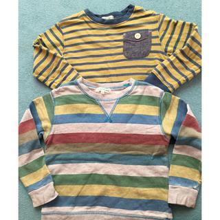 サンカンシオン(3can4on)の子供服 110サイズ トレーナー 2枚 3can4on(その他)
