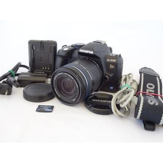 オリンパス(OLYMPUS)の【美品】Olympus E-520 レンズセット 初心者お薦め(デジタル一眼)