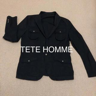 テットオム(TETE HOMME)のテットオム 綿ジャケット Lサイズ(テーラードジャケット)