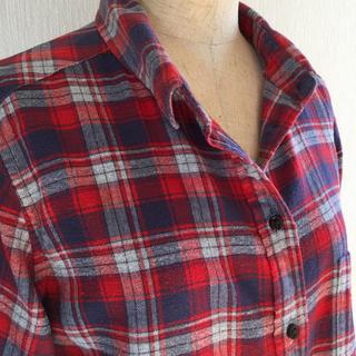 ユニクロ(UNIQLO)の赤ユニクロフランネルシャツ(その他)