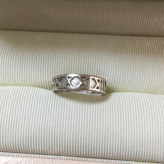 ジュエリーツツミ(JEWELRY TSUTSUMI)のK14WG デザインリング(リング(指輪))