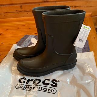 クロックス(crocs)の【新品】クロックス CROCS オールキャスト M10 28センチ(長靴/レインシューズ)