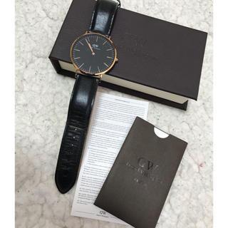 ダニエルウェリントン(Daniel Wellington)のダニエル・ウェリントン 40mm ピンクゴールド(腕時計(アナログ))
