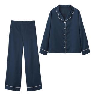 GU - GU サテンパジャマ長袖