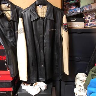ナイキ(NIKE)のジョーダンレザージャケット size US XL新品タグ付き(レザージャケット)