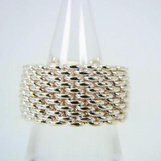 ティファニー(Tiffany & Co.)のティファニー 925 サマセットメッシュ リング 8号[g82-6](リング(指輪))