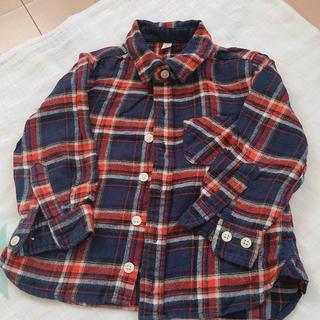 ムジルシリョウヒン(MUJI (無印良品))の無印良品シャツ90(ブラウス)