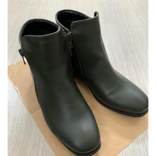 カスタネ(Kastane)のカスタネ  カーキ ブーツ(ブーツ)