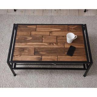 【送料無料】Industrial Low Table(ローテーブル)