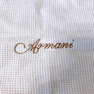 アルマーニ ジュニア(ARMANI JUNIOR)のアルマーニ おくるみ(おくるみ/ブランケット)