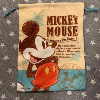 ミッキーマウス - ミッキー 巾着