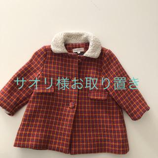 キャラメルベビー&チャイルド(Caramel baby&child )のcaramel コート ウール 90 18m bonton ボンポワン(コート)