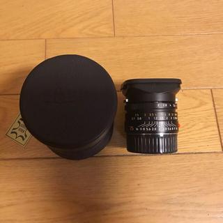 LEICA - Leica Summicron 35mm F2 asph 美品 フードはめ込み式