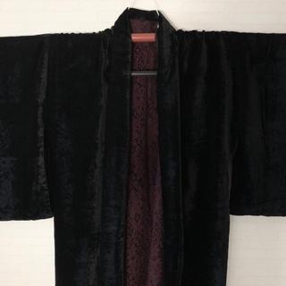 フリフ(ふりふ)のベルベット羽織(着物)