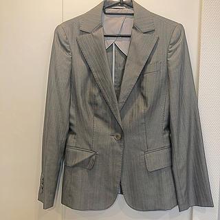 スーツカンパニー(THE SUIT COMPANY)のジャケットスーツ  グレーストライプ(スーツ)