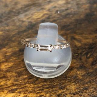 k18PG ダイヤ リング ブラックフライデー ミレ(リング(指輪))