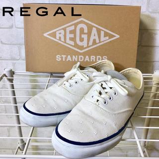 リーガル(REGAL)の【REGAL】リーガル ヨット刺繍 スニーカー スリッポン☆22.5cm☆(スニーカー)