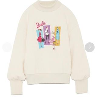 リリーブラウン(Lily Brown)の連休SALE❗️LilyBrown 完売品 Barbie スウェット(トレーナー/スウェット)