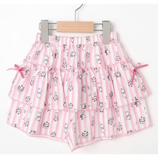 シューラルー(SHOO・LA・RUE)のマリーデザイン ストライプスカパン(スカート)